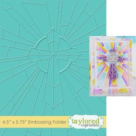 Taylored Expressions Embossing folder / embossing folder