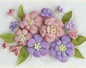 Skum, skæring dør: blomster og blade og andet