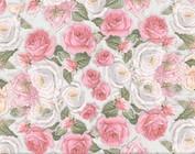 Papier, motifs floraux