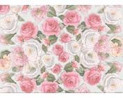 Papel, diseños florales, estampados motivos flores.