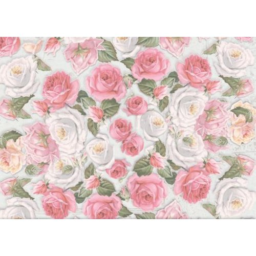 Papier, motifs floraux, motifs de timbres fleurs