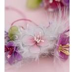 Staubgefäss,  Bloemen zum kombinieren, Dekoband, Perlen, Brads und  viele andere Verzierungen