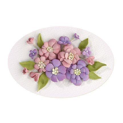 Creative 3D flowers design