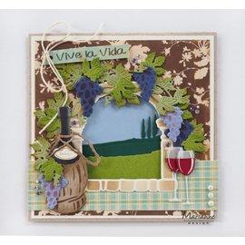 Marianne Design Stanzschablonen: Horizon: Cypresses