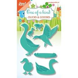 Joy!Crafts / Jeanine´s Art, Hobby Solutions Dies /  découpage et gaufrage modèles: Canard et oie