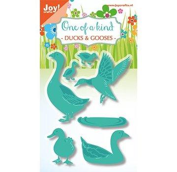 Joy!Crafts / Jeanine´s Art, Hobby Solutions Dies /  Skære- og prægemaler: Duck og gås