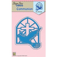 Cutting and Embossing Stencil: Communion