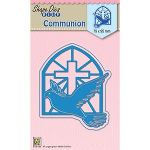 Nellie Snellen Cutting and Embossing Stencil: Communion