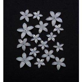 Hars bloemen, plastic bloemen