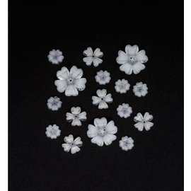 Flores de la resina, flores de plástico