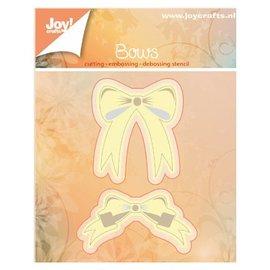 Joy!Crafts / Jeanine´s Art, Hobby Solutions Dies /  modelli di taglio e goffratura: 2 fiocchi