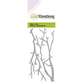 Craftemotions découpage et gaufrage: Branches, Carte 5x10cm