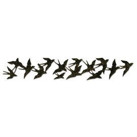 Sizzix Punzonatura giga, Tim Holtz, alterazioni Collection, volo degli uccelli