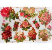 Bilder, 3D Bilder und ausgestanzte Teile usw... Scrap lotti, fiori