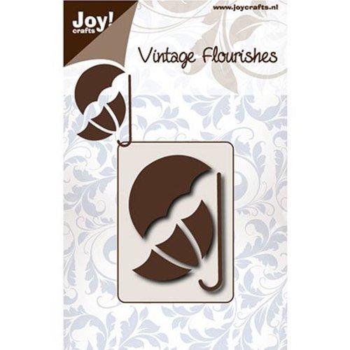Joy!Crafts / Jeanine´s Art, Hobby Solutions Dies /  Stanzschablonen: Vintage Sonne- und Regenschirm