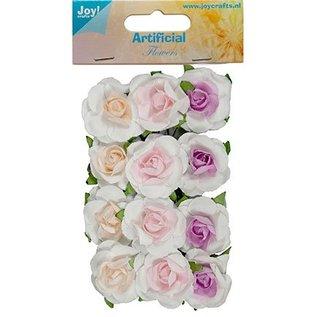 BLUMEN (MINI) UND ACCESOIRES 12 mini floretes, tamaño de 25 mm