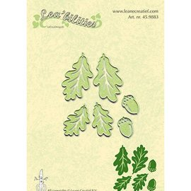 Leane Creatief - Lea'bilities und By Lene cutting and embossing templates: Twig & Leaves - Copy