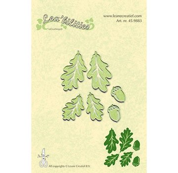 Leane Creatief - Lea'bilities und By Lene modelli di taglio e goffratura: Twig & Leaves - Copy