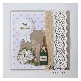 Marianne Design Stanzschablonen: Champagne