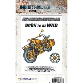 Studio Light klart frimærke: Industrial