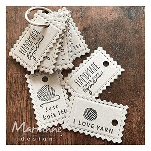 Marianne Design cutting and embossing Stencils: Eline's craft dates