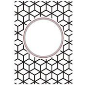 Nellie Snellen cutting and embossing Stencils: Round-diamonds