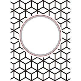 Nellie Snellen découpage et gaufrage Pochoirs: diamants ronds