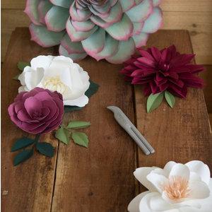 Sizzix Falsning & Curl Tool, dobbeltsidet maskine til produktion af blomster