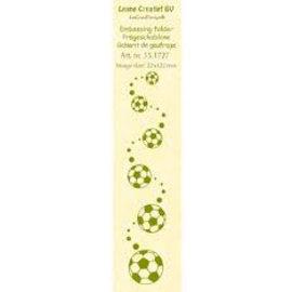 Leane Creatief - Lea'bilities und By Lene Embossing template border: Foot pads
