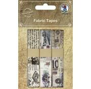 Designer Papier Scrapbooking: 30,5 x 30,5 cm Papier Scrapbooking uitstekende stof Tapes, Zelfklevend, 3 verschillende Motive