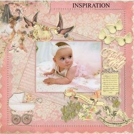 Kaisercraft und K&Company Chipboards Designs: Baby girl