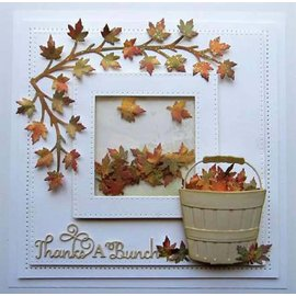 CREATIVE EXPRESSIONS und COUTURE CREATIONS cutting and embossing Stencils: Sycamore branches