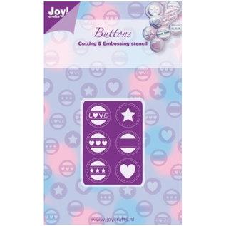 Joy!Crafts / Jeanine´s Art, Hobby Solutions Dies /  Ponsen sjabloon: Mini Labels Liefde