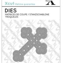 Docrafts / X-Cut Stanzschablone Kreuz, format 7 x 5cm