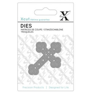 Docrafts / X-Cut Coupe et gaufrage Croix de modèle
