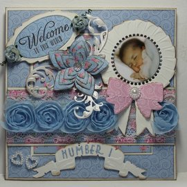 Joy!Crafts / Jeanine´s Art, Hobby Solutions Dies /  Plantilla de corte y estampado: arco, 80,5 x 54 mm