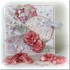 Joy!Crafts / Jeanine´s Art, Hobby Solutions Dies /  Plantilla de corte y estampado: redondo, mariposas, 6002 0244, 89 mm de diámetro