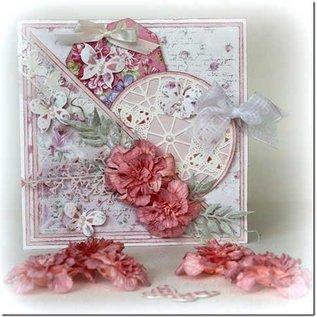 Joy!Crafts / Jeanine´s Art, Hobby Solutions Dies /  Stanzschablone: Rund, Schmetterlinge, 6002 0244, 89mm Durchmesser