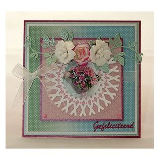 Joy!Crafts / Jeanine´s Art, Hobby Solutions Dies /  Snij en embossing sjabloon: Framboosblad