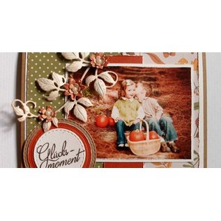 Joy!Crafts / Jeanine´s Art, Hobby Solutions Dies /  Cutting and embossing Template: Raspberry leaf