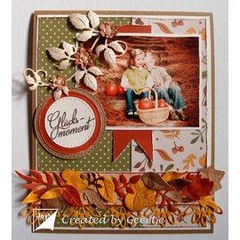 Joy!Crafts / Jeanine´s Art, Hobby Solutions Dies /  Skæring og prægning Skabelon: Hindbærblad