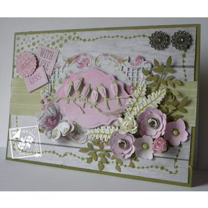Joy!Crafts / Jeanine´s Art, Hobby Solutions Dies /  modèle de poinçonnage et gaufrage Joy Crafts, feuilles