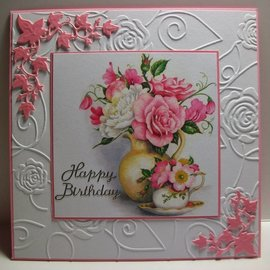 Marianne Design Marianne Design, punching and embossing template Craftables - Ivy corner