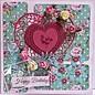 Joy!Crafts / Jeanine´s Art, Hobby Solutions Dies /  Snij en embossing sjabloon: Hearts