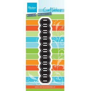 Marianne Design cutting and Embossing template: Ribbon border, 135 x 23 mm