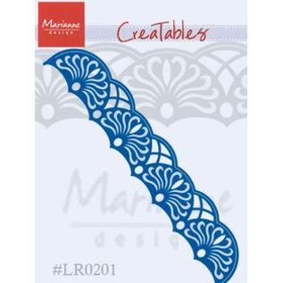 Marianne Design Stanzschablone: filigrane Bordüre