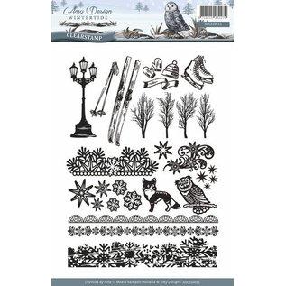 AMY DESIGN AMY DESIGN, francobollo trasparente: natura, con 24 magnifici francobolli
