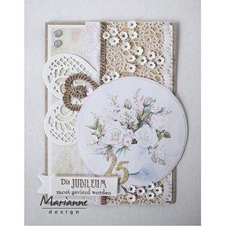 Marianne Design plantilla de corte y estampado: borde de encaje de filigrana
