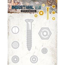 Studio Light Skæring og prægning skabelon: Industrial