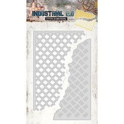 cutting and embossing template: Industrial